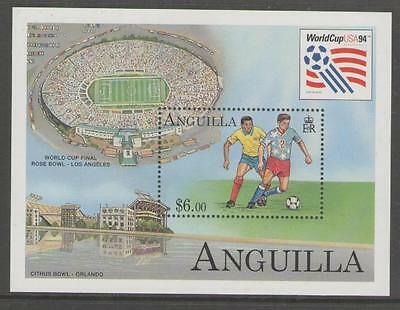 Anguilla Sgms953 1994 Football World Cup Mnh