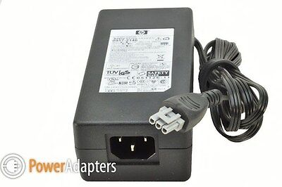 HP genuine PhotoSmart 7960 printer 240v power supply unit adapter with cable