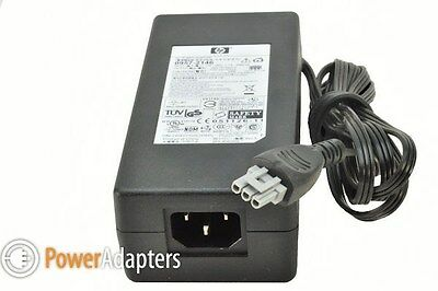HP genuine OfficeJet PSC 2410 printer 240v ac-dc power supply adapter with cable