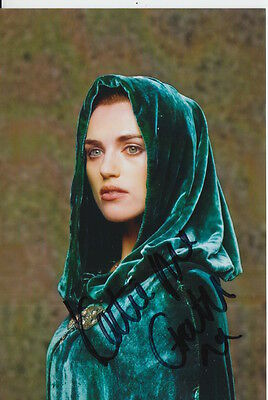 Katie Mcgrath Hand Signed 6X4 Photo Merlin, Morgana Pendragon 3.