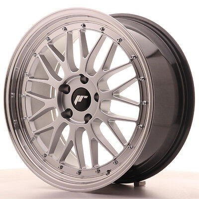 Llanta Japan Racing Jr23 19X8,5 Et35 5X120 Hiper Silver
