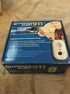 LogicMark Guardian Alert 911 Emergency Alert System - NO MONTHLY FEES , New, Fre