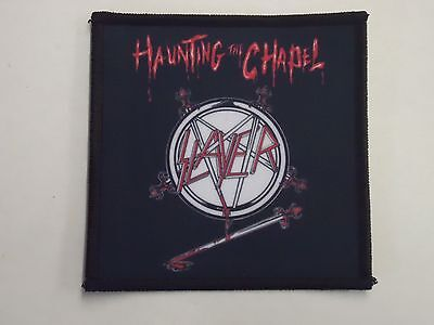 Slayer Haunting The Chapel Sublimated Patch