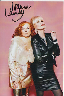 Joanna Lumley Hand Signed 6X4 Photo Absolutely Fabulous Patsy 5.