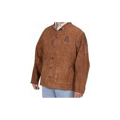 Steiner Brown Leather Welding Jacket (Large) 9215-L NEW