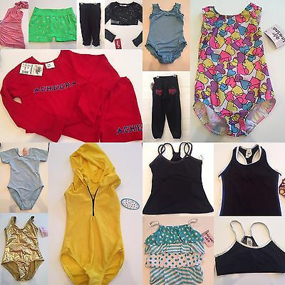 NEW Dancewear Grab Bag 16 Pc Lot Leotards Shorts Tops- Large Child LC 12-14 $278
