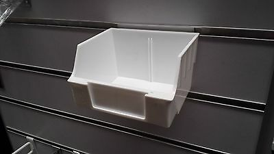 12 x parts hardware bin for slat wall panel display shelving
