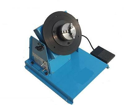 110V/220V 2~16RPM 10KG Light Duty Welding Positioner Turntable with 65mm Chuck