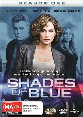 Shades Of Blue : Season 1 (DVD, 2016, 3-Disc Set) (Region 4) Aussie Release