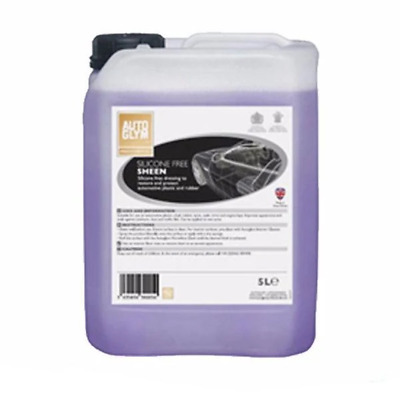 Autoglym Car Automotive Silicone Free Tyre Mat Sheen Car Care 5L AUTSFS5
