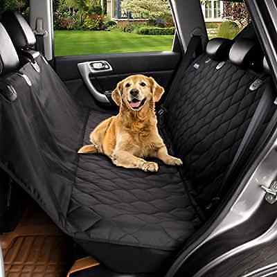 Acrabros Deluxe Dog Seat Covers For Cars,Dog Car Seat Hammock Convertible,Univer