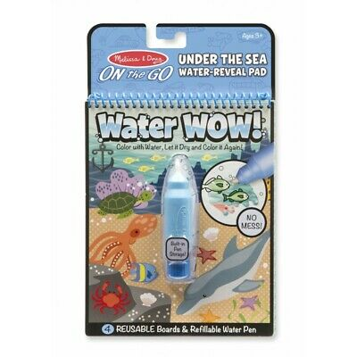 Melissa and Doug On The Go - Water WOW! - Under The Sea