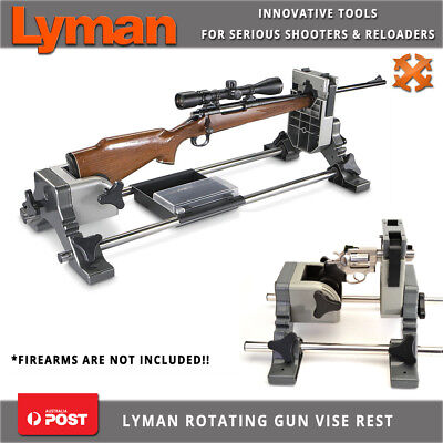 Lyman Revolution Rotating Gun Vise Shooting Rest Vice For Rifle Shotgun Pistol