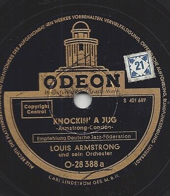 Louis Armstrong :  I can´t give you anything but love + Knockin A Jug