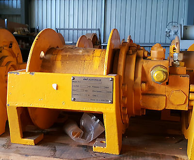 2 tonne hydraulic Winch