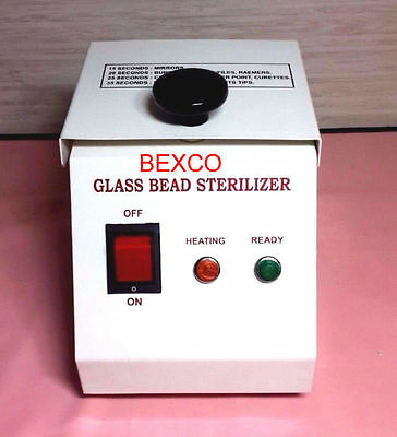 Glass Bead Sterilizer (Manufacture) by Top Quality Brand BASCO , DHL Shipping