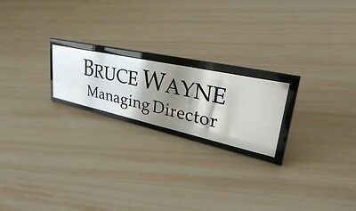 Executive Personalised Desk Name,Custom Engraved Sign,Name Plaque,Office manager