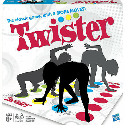 Hasbro Twister Game - With Two More Moves! 6+ Years