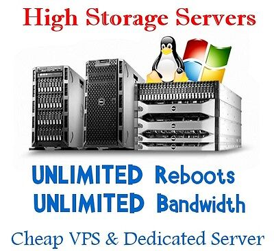 High Storage Dedicated Hosting Server 12 TB HDD + 16 GB RAM + Unlimited Bandwidt