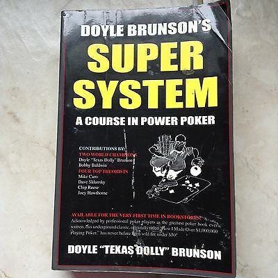 Doyle Brunson's Super System: A Course in Power Poker (store#5597)