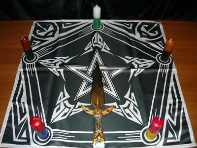 Wicca Altar Cloth Power of Witch