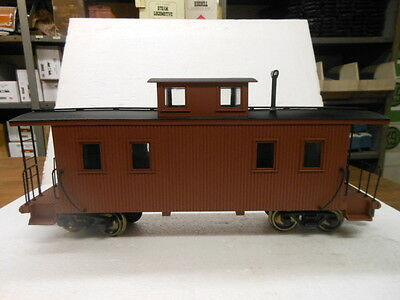 Bachmann G Scale Williams 8 Wheel Caboose Painted (Unlettered) 93870
