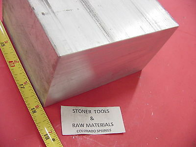 "3"" X 6"" ALUMINUM 6061 FLAT BAR 18"" LONG SOLID T6511 3.00"" Plate Mill Stock"