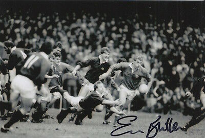 Wales Hand Signed Eddie Butler 6X4 Photo Rugby Union 3.