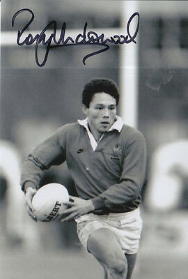 England Hand Signed Rory Underwood 6X4 Photo Rugby Union 1.