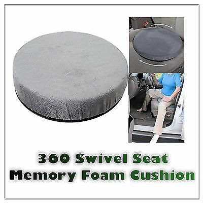 Car Swivel Chair Rotating Seat Mobility Aid Cushion With Memory foam Home Office