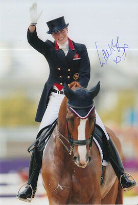 Laura Bechtolsheimer Hand Signed Great Britain Olympics 6X4 Photo.