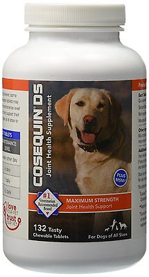 Nutramax Cosequin DS Plus with MSM Chewable Tablets, 132 Count