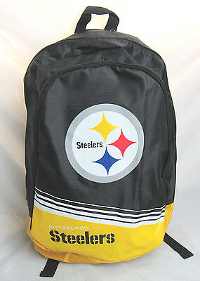 ed884d25 NFL PITTSBURGH STEELERS 2015 Stripe Core Logo Backpack by Forever  Collectible
