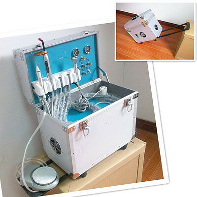 Dental Portable Delivery Unit / ultrasonic scaler /curing light / 3-way Syring