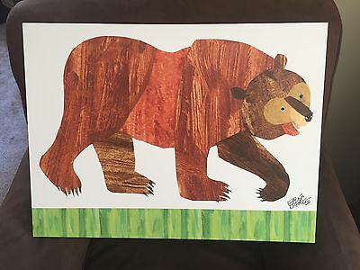 Unique Eric Carle's Brown Bear Canvas Art By Oopsy Daisy Fine Art