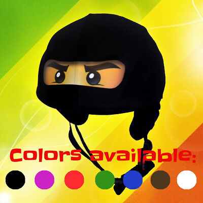 Ninja helmet cover - ideal for technically any kid size sport helmet