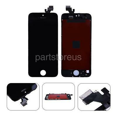 USA Black LCD Display Touch Screen Digitizer + Frame Assembly For Apple iPhone 5