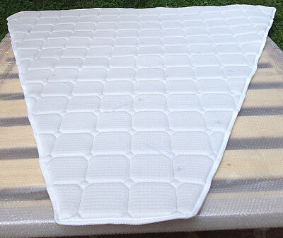 Memory foam topper ideal for boat's mattresses any size and any shape you need