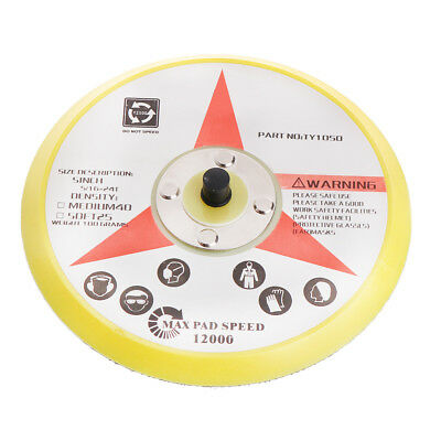 "Polishing Sander Backer Plate Napping Hook Loop Sanding Disc Pad 6"" 150MM"