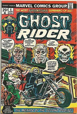 Ghost Rider U-PICK ONE #6,7,8,9 or 10 Marvel (1974-75) Issues PRICED PER COMIC