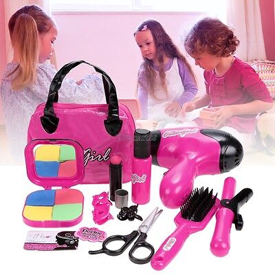 Fashion Children Kids Girls Pretend Play Makeup Kit Toys Gift OK