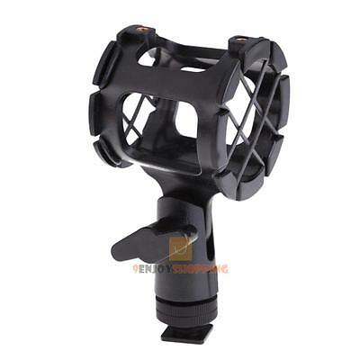 Camera Shock Mount Suspension Holder With Hot shoe For Microphone Mic