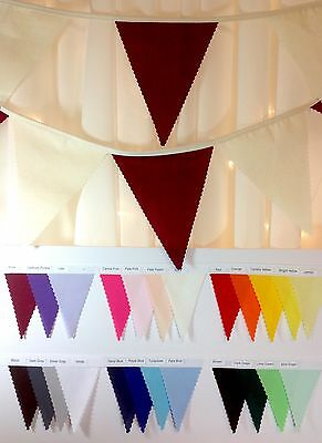 Natural Calico Bunting - PYO Colours & Lengths from 1m - weddings..