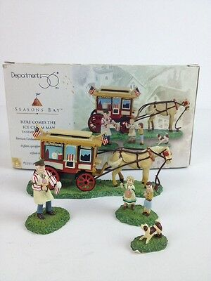 Department 56 Seasons Bay Here Comes The Ice Cream Man