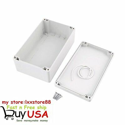 200x120x75mm Waterproof Electronic Junction Project Box Enclosure Case US SHIP