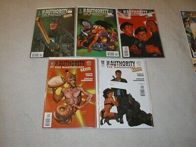 The Authority Magnificent Kevin U-PICK 1 COMIC 1,2,3,4,5 DC Wildstorm MR Singles