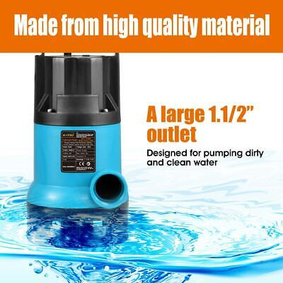 400W Heavy Duty Garden Pond Submersible Sewage Clean Dirty Water Pump Free P&P