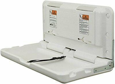 ECR4Kids Horizontal Commercial Baby Changing Station, White Granite New