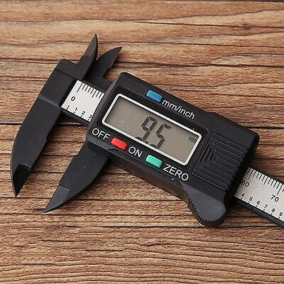 150mm LCD Electronic Digital Gauge Stainless Vernier Caliper Micrometer  6inch