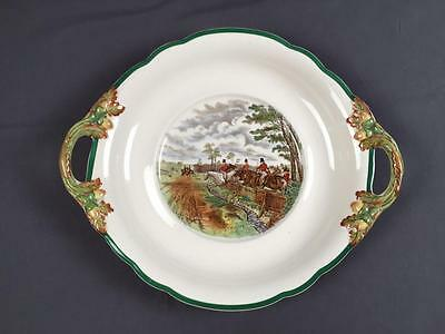 AntQ Hard 2 Find Large Copeland Spode Herring Equestrian Tureen Tray